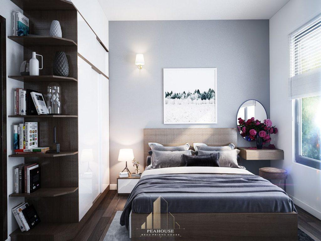thiết kế nội thất căn hộ mizuki park 72m2 a Huy phòng ngủ 06
