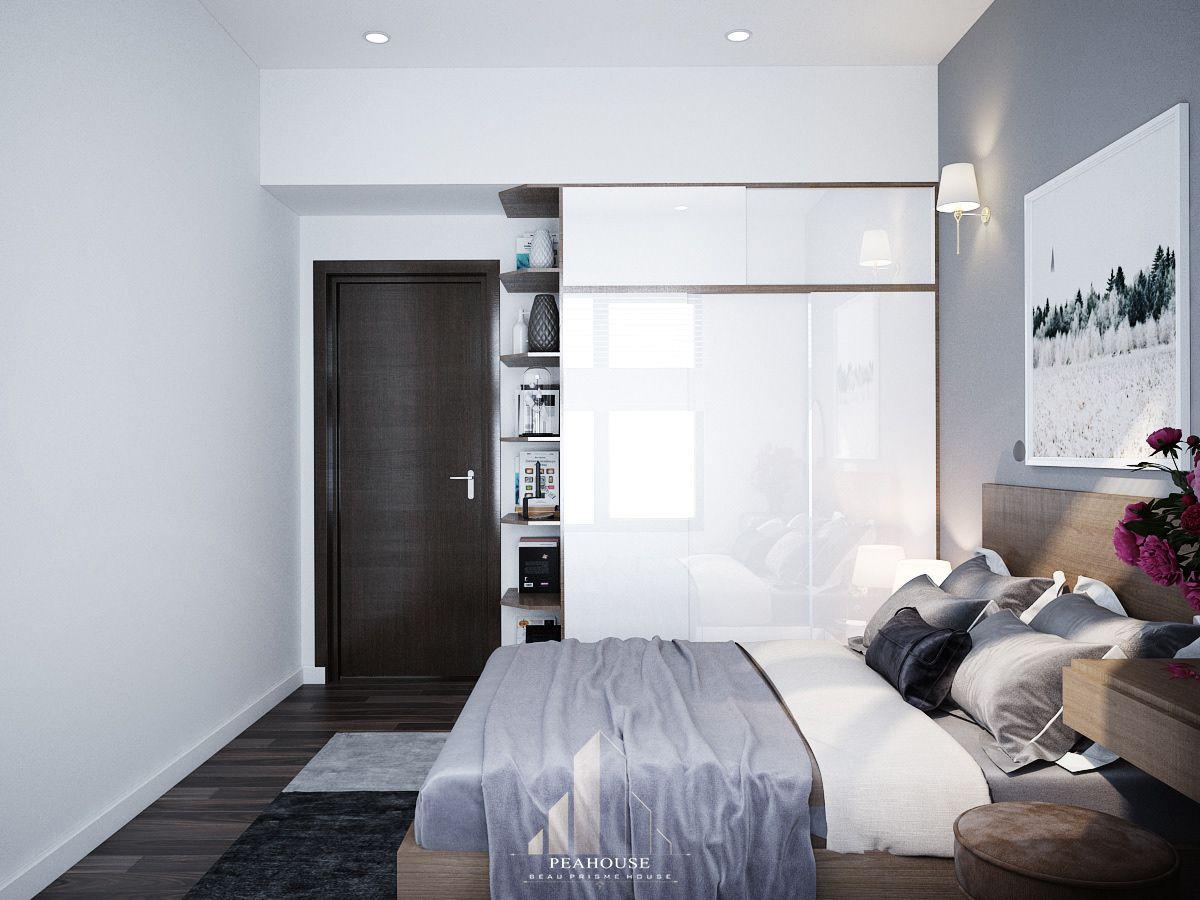 thiết kế nội thất căn hộ mizuki park 72m2 a Huy phòng ngủ 07