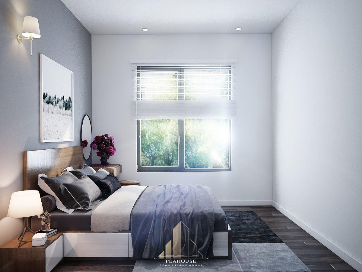 thiết kế nội thất căn hộ mizuki park 72m2 a Huy phòng ngủ 08