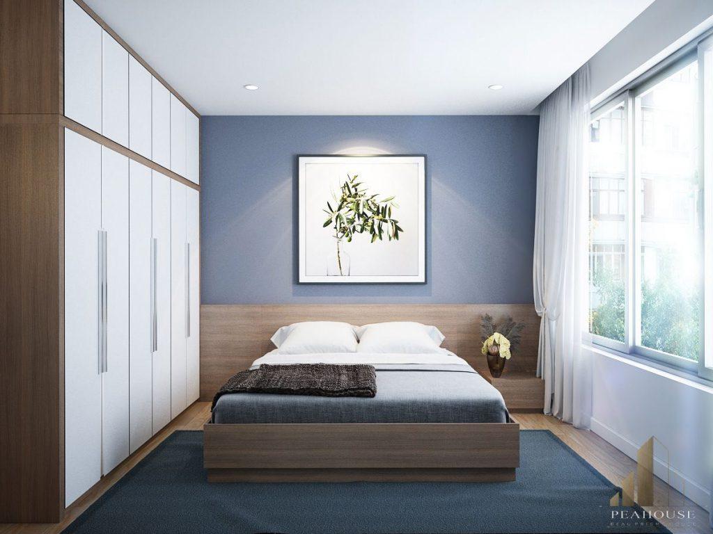thiết kế nội thất căn hộ rivirea point 120m2 chị vân phòng ngủ 1 19