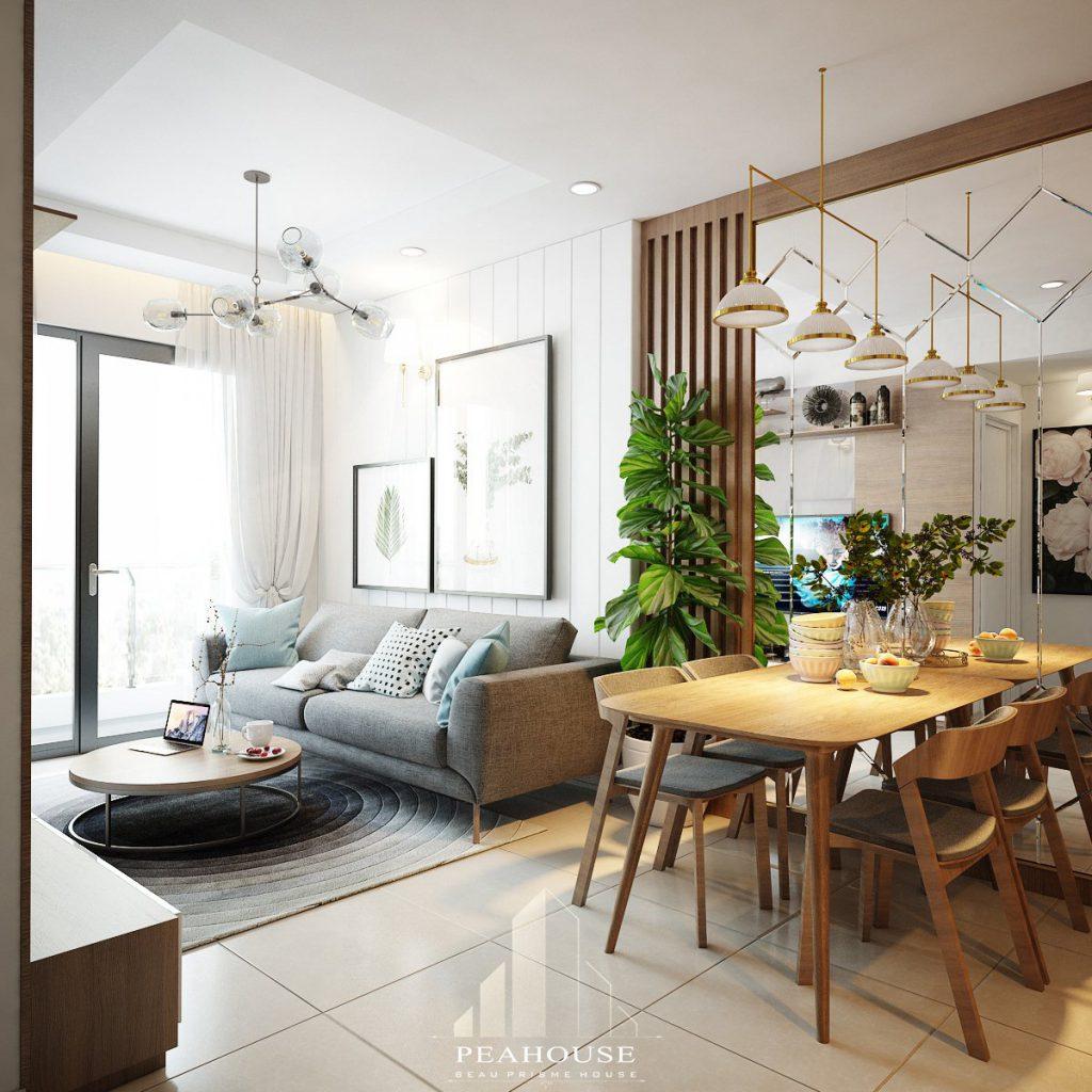thiết kế nội thất căn hộ botanica 72m2 anh nam phòng khách 06